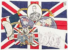 An Edward VIII 1937 coronation textile flag