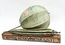Betts (John) - Betts's Portable Terrestrial Globe,