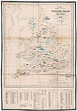 Wyld (James) - A Map Shewing the Places in England & Wales, Sending Members to Parliament,