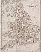 Smith (Chalres) - Smith's Map of England & Wales Containing the whole of the Turnpike Roads, Rivers & Canals...,