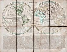 Wyld (James) - The World on Mercator's Projection,