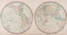 [Darton (William, Jr. & Thomas Darton)] - Walker's Geographical Pastime Exhibiting a Complete Voyage round the World in Two Hemispheres...,
