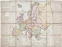 Jefferys (Thomas) - The Royal Georgraphical Pastime or the Complete Tour of Europe,