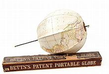 Betts (John) - Betts's New Portable Globe,