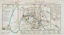 Verniquet & Lagrive. - Plan de Paris,