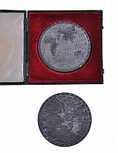 Halliday (T.) Attributed to. - George IV Map of the World commemorative medal,