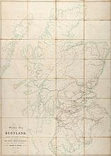 Basire (James, the third) - A Skeleton Map of Scotland,