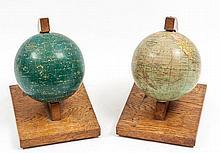 Philip (George, & Son) - Philip's 6 inch Terrestrial Globe; Philip's Popular Celestial Globe,