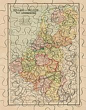 Jigsaw. Europe. - A group of 6 boxed jigsaw maps,
