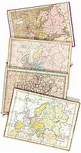 Jigsaw. Fremin (A.R.) - 4 boxed sets of jigsaw maps,