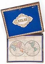 Jigsaw. Fremin (A.R.) - A boxed set of 8 jigsaw maps,