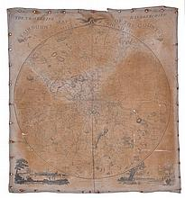Fairburn (John) - The Travelling Handkerchief, Fairburn's Map of the Country Twelve Miles Round London,
