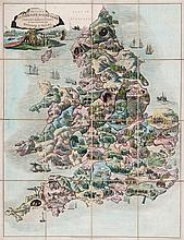 Wallis (John) - Wallis's Picturesque Round Game of the Produce & Manufactures, of the Counties of England and Wales,
