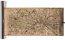 Rolling cloth plan of London,