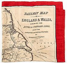 Reed (W.) - Railway Map of England & Wales shewing the Actual & Proposed Lines,