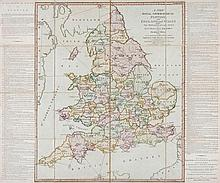 [Sayer (Robert)] - A New Royal Geographical Pastime, for England and Wales
