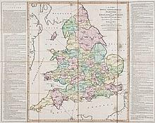 Sayer (Robert) - A New Royal Geographical Pastime, for England and Wales