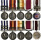 CAMPAIGN MEDALS AND GROUPS