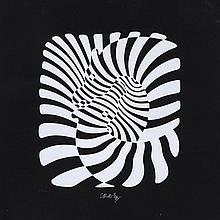 Victor Vasarely (1906-1997) - Zebras