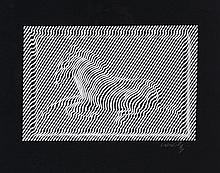 Victor Vasarely (1906-1997) - Zebra
