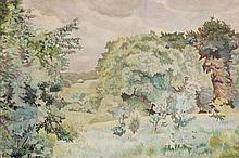Gilbert Spencer (1892-1979) - Early Spring, Basildon