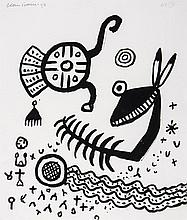 Alan Davie (1920-2014) - Untitled (10)