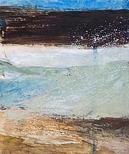 John Hubbard (b.1931) - Greek Landscape No.1, 1965