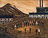 Jack Jones (1922-1993) - Industrial landscape with figures