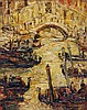 Stanley Grimm (1891-1966) - Bridge of Sighs, Venice