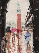 Peter Kuhfeld (b. 1952) - San Marco, April morning