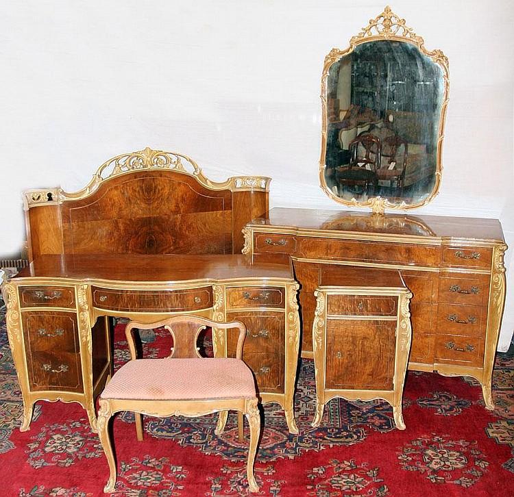 Joerns Bros Furniture Co Walnut Bedroom Set C