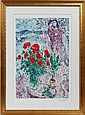 MARC CHAGALL [FRENCH/RUSSIAN 1887-1985], LITHOGRAPH, 1981, 20