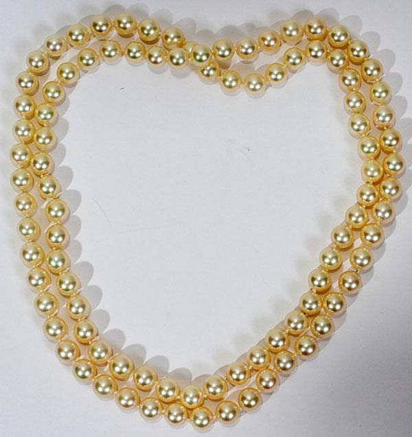 7.0MM - 7.5MM CULTURED PEARL NECKLACE, L 30