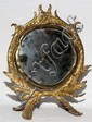 TOWNSHEND & CO. BRASS MIRROR C. 1900, H 12