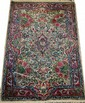 KERMAN PERSIAN RUG, ANTIQUE, 3' 0
