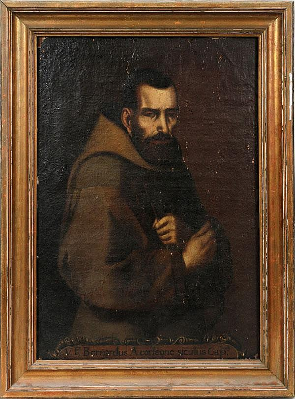 ANTIQUE OIL ON CANVAS, 36