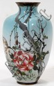 JAPANESE CLOISONNÉ VASE, 19TH.C. H 7.5