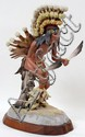CYBIS PORCELAIN INDIAN WITH HEADDRESS, DATED 1977,
