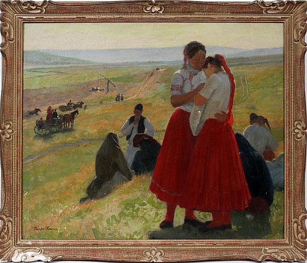 FERENCZ [FRANZ] PACZKA [HUNGARIAN 1856-1925], OIL