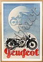 MAX PONTY, COLOR LITHO POSTER,