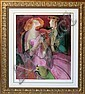 LINDA LE KINFF [FRENCH, 1949], SERIOLITHOGRAPH,, Linda LeKinf, Click for value