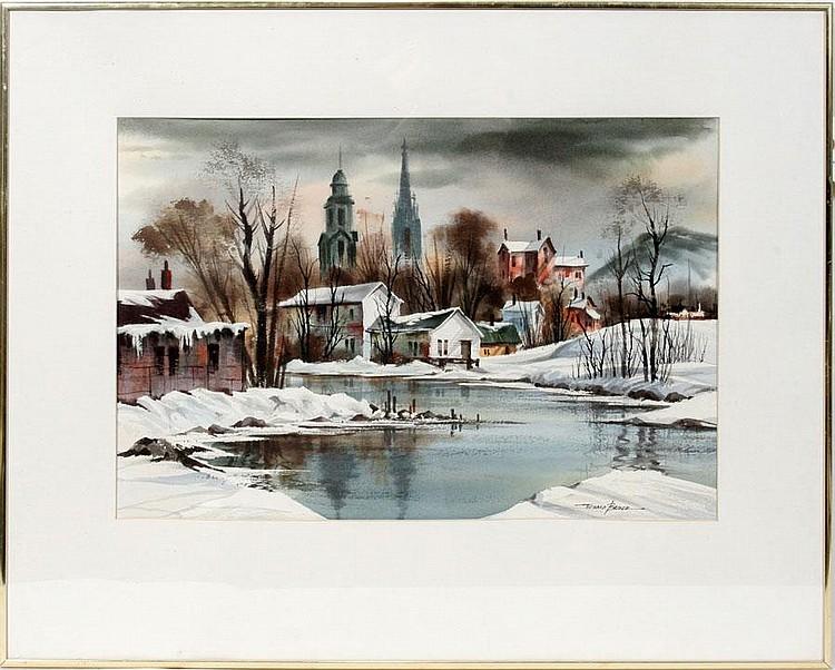 EDWARD J. BASKER (AMERICAN, 1908 - 1972),