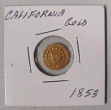 1853 California Gold Half Dollar