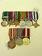 Medal group comprising India General Service
