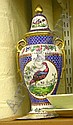 Edwardian Spode Copelands china vase and cover