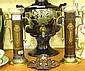 Pair of Art Nouveau period anodised specimen vases