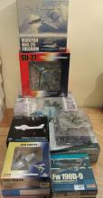 Die-cast model aircraft various makes boxed (9)