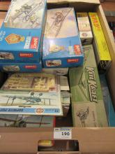 Collection of Revell, Frog, KeilKraft and other un-made model kits all boxed (mostly aircraft)