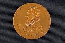 Medalla de bronce conmemorativa del III Centenario de la Publicación del Qu