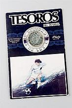 Commemorative Silver Coin, World Cup 1986